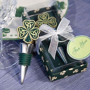1 Autumn Fall Lustrous Leaf Design Wedding Wine Bottle Stopper Favor Drink Gift