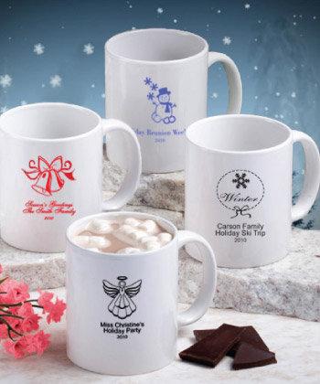 Holiday Themed Ceramic Coffee Mug