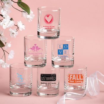 Wedding Shot Glass Votive Candle Holder Exclusive