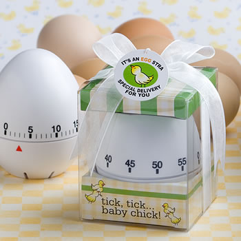 Egg-stra Special Baby Themed Egg Timer Party Favors