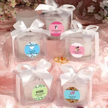 Fashioncraft's Personalized Expressions  Collection  Candle Favors - Love