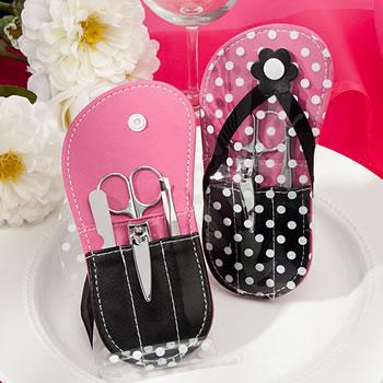66559de02 Flip Flop design Manicure Sets - Nice Price Favors