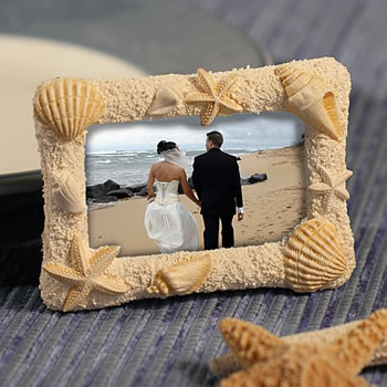 Beach-Themed Photo Frames