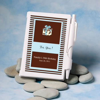 Personalized Fairy Tale Princess Theme Notebook Wedding Favors