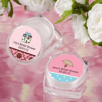 bridal shower lip balm favors