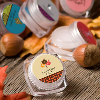 Personalized Lip Balm - Fall Themed