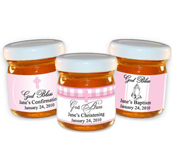 Christening & Baptism Honey -  Girls