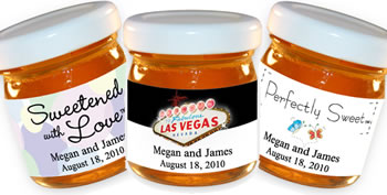 Personalized Honey Favors - Other Themes (5 designs available)