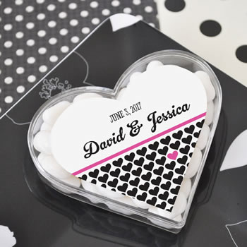 Heart Shaped Personalized Labels