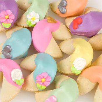 Rainbow Fortune Cookies-Individually Wrapped -