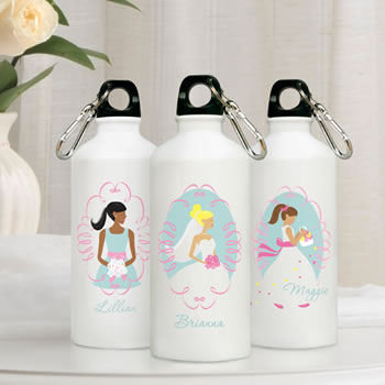 Personalized Goin' to the Chapel Water Bottle (3 Designs Available)