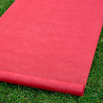 Aisle Runner - Red