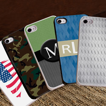Personalized iPhone Case: 7 Designs Available (For Men)