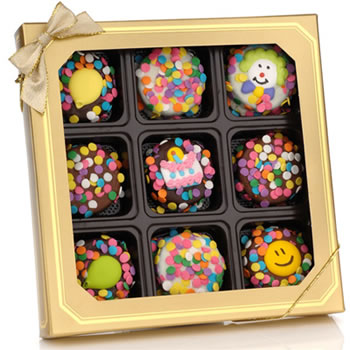 Birthday Chocolate Dipped Oreos®, Box of 9