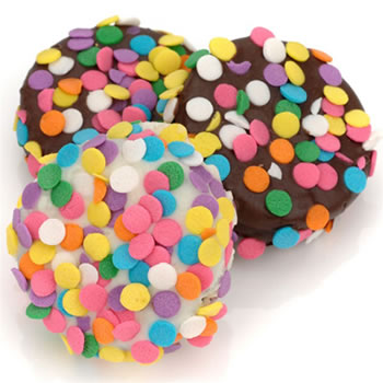 Confetti Chocolate Dipped Oreos®-INDIVIDUALLY WRAPPED