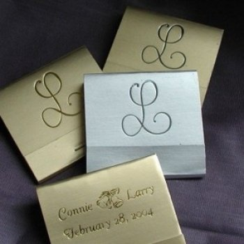 Personalized Matchbook Nice Price Favors