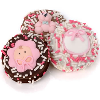 New Baby Girl Oreo Cookies- Individually Wrapped