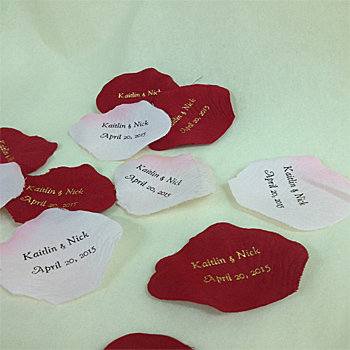Rose Petal Favors (Sold in Bag of 100 petals)