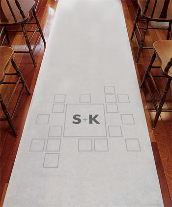 Times Square Personalized Aisle Runner