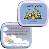 Baby Shower Mint Tins - <b>Baby Theme (4 designs available)</b>