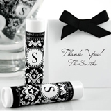 Monogram Lip Balm Favors
