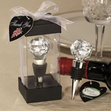<i>Vineyard Collection™</i> Crystal Ball Design Wine Stoppers