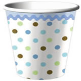 9-oz Cups - Tickled Blue