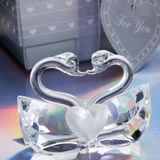 <em>Choice Crystal Collection</em> Kissing Swans