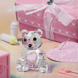 <em>Choice  Crystal Collection</em> Teddy Bear Figurines