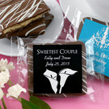 Personalized Chocolate Graham Cracker - Silhouette Collection