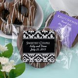 Personalized Gourmet Chocolate Pretzel - Silhouette Collection