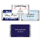 Winter Theme Hersheys Mini Chocolates (6 designs available)