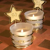 Gold Star Design 50th Anniversary Celebration Favors