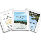 Personalized Beach Theme Tea Favors - (14 designs available)