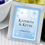 Personalized Winter Theme Tea Favors -  (5 designs available)
