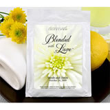 Flower Themed Lemonade Wedding Favors