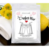 Heart Themed Lemonade Wedding Favors