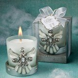 Religious Regal Favor Collection Angel Themed Candle Holders