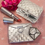 Pocketbook-Design <em>Elegant Reflections Collection</em> Mirror Compact Favors