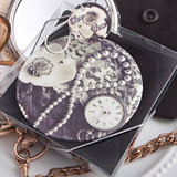 Vintage design pocket  mirror