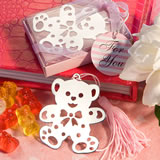 Lovable Teddy Bear Design Bookmarks - Pink