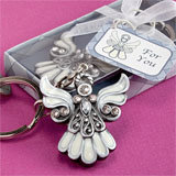 Religious Angel Design Keychain Favors
