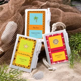 Personalized NoteBook Favors - Beach
