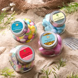 Personalized Glass Jar - Beach Theme