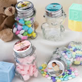 Personalized Teddy Bear Jars