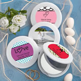 Personalized Expressions Collection Mirror Compact Favors