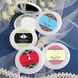 Personalized Expressions Collection Mirror Compact Favors - Love Themm