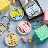 Baby Shower Personalized Expressions Collection Key  Ring Favors