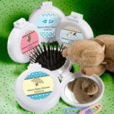 Personalized Expressions Collection Brush & Mirror Compact Favors