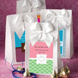 "White ""Delivered with Love"" boxes from the <em>Personalized Expressions Collection</em> (O"